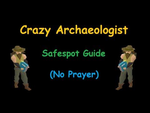 RuneScape – Crazy Archaeologist Safespot Guide (No Prayer Required)