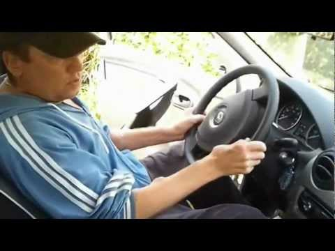 RENAULT LOGAN vs LADA KALINA дачный тест драйв 1 часть