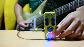 BANANANA effects MANDALA pitch shifter / short time sampler pedal guitar demo