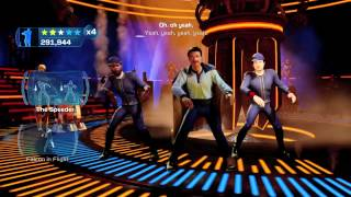 "Kinect Star Wars ""I'm Han Solo"" Dancing"