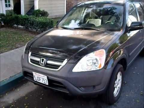 2004 Honda Cr V Ex Start Up Engine Tour Youtube