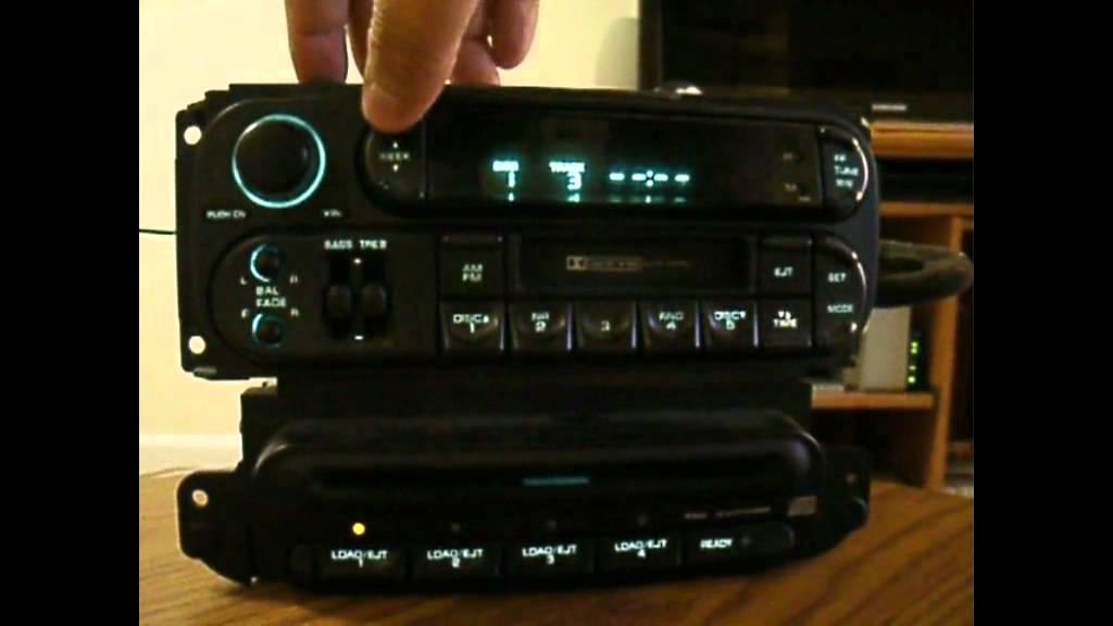 Chrysler Radio Cd Changer Testing Youtube