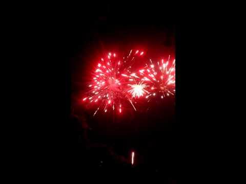 2014 Lower Straits dog beach fireworks
