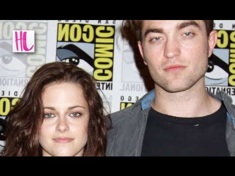 Kristen Stewart & Robert Pattinson Kiss at Golf Course Date