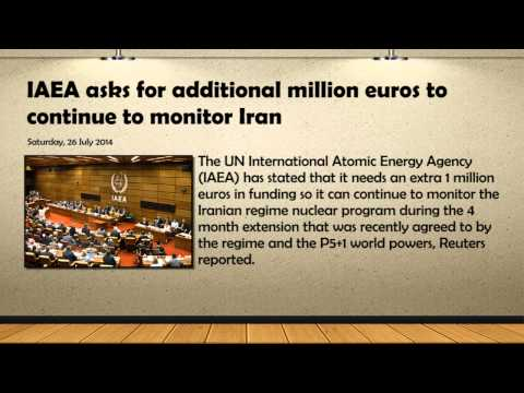 IAEA asks for additional million euros to continue to monitor Iran