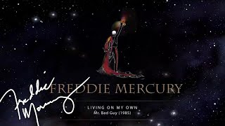 Freddie Mercury - Living On My Own (Lyric Video)