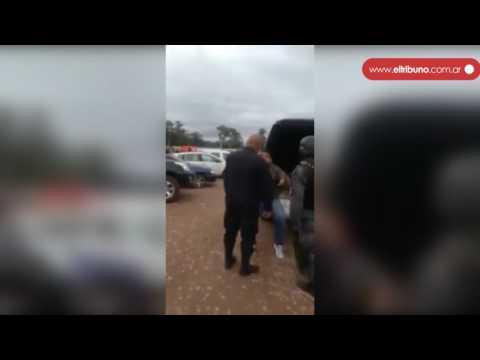 #WhatsAppElTribuno Arrestan a un hombre en un acto de Macri en Calilegua