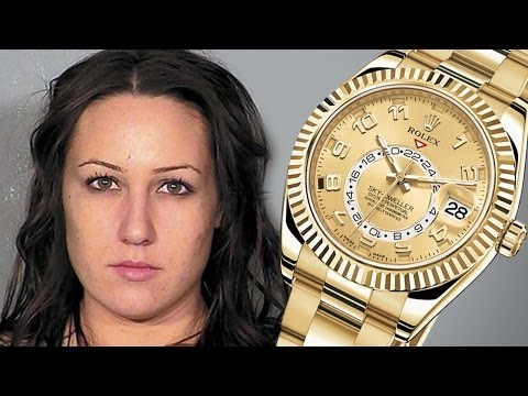 Masseuse Steals Rolex: Hides In Vagina! video