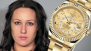 Masseuse Steals Rolex: Hides in VAGINA!
