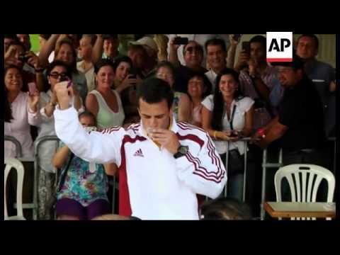 Venezuela - Maduro wins razor thin victory over Capriles in presidential election