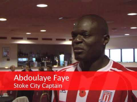 Tony Pulis, Dean Whitehead and Abdoulaye Faye on Ryan Shawcross Deal