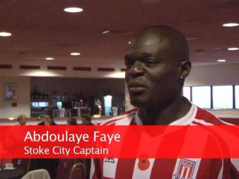 Tony Pulis, Dean Whitehead and Abdoulaye Faye on Ryan Shawcross Deal