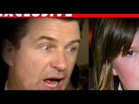 """Alec Baldwin To Daughter - """"thoughtless Little Pig""""..."""