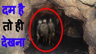 गुफाओ में दिखे रहस्य्मयी जीव Mysterious Creature Found in Cave.