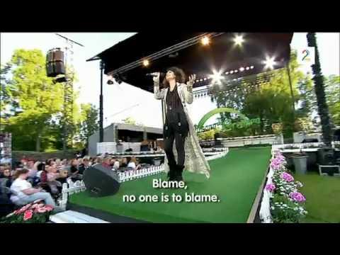 Katie Melua - The Flood (Live in Norway Allsang på grensen) with Lyrics
