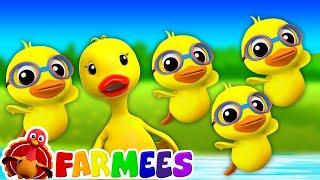 Vịt Con Vịt Con Có Mama | Nhac Thieu Nhi Hay Nhất | Duckling Duckling Yes Mama | Farmees Vietnam