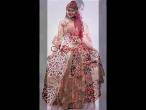 Model Gaun Kebaya Batik Terbaru - Best Hairstyles 2014 Ideas