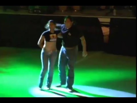 Amazing Cumbia Dance by Rosie & Israel Coronado