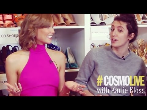 Karlie Kloss Talks Taylor Swift
