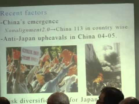 Prof. Takenori Horimoro - India - Japan political dimenssion