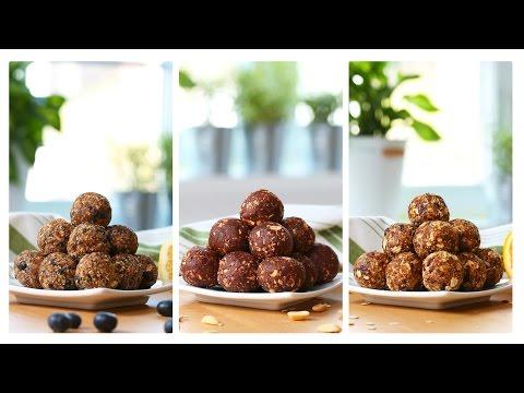 Healthy No-Bake Energy Bites | 3 Delicious Ways