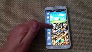"""How to remove shortcut """"pull out"""" sidebar tab side of home screen on a Samsung galaxy note 2 s3 s4"""