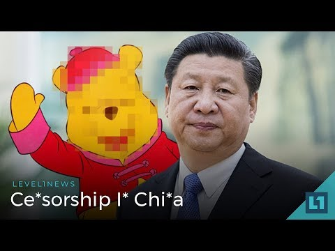 L1 News (Policy, Social Media): Ce*sorship I* Chi*a -- 2018-03-06