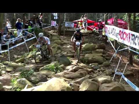 Maja W�oszczowska na ostatnim okr�żeniu wyprzedza Emily Batty. Maja W�oszczowska overtakes Emily Batty on the last lap. Gratulacje pierwszego miejsca :)
