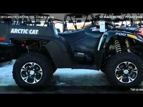 2013 arctic cat 700 tbx for sale in hettinger nd 58639 for Rz motors inc hettinger nd