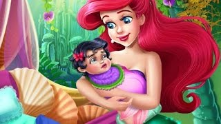 Ariel Princess Newborn Baby Ariel Feeding Baby Cartoon Games For Girls