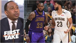 Anthony Davis will be a Laker either via trade or free agency – Stephen A. | First Take