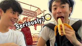 PHILIPPINES AND JAPAN HAVE DIFFERENT TASTES OF BANANAS!!