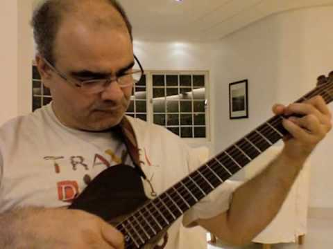 Solo Jazz Guitar My Funny Valentine in A minor Genil Castro