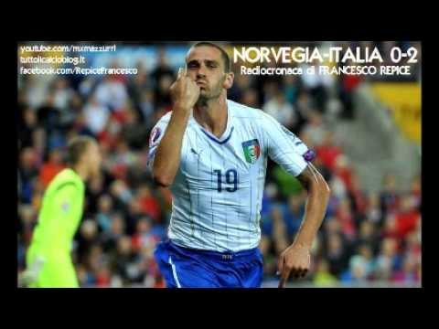 NORVEGIA-ITALIA 0-2 - Radiocronaca di Francesco Repice (9/9/2014) da Radiouno RAI