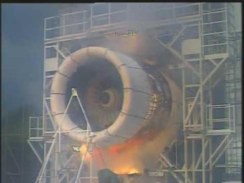 Bird Strike Jet Engine Test - YouTube