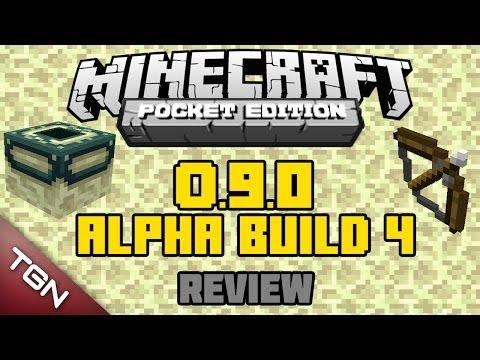 Minecraft PE 0.9.0 Alpha Build 4 Review Algo estable