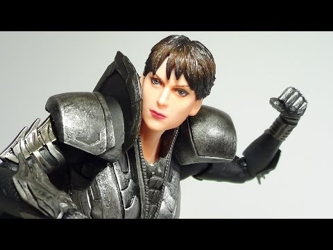 Play Arts Kai Faora Ul Man of Steel Movie Figure Review