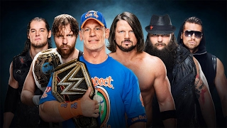 WWE 2K17 Elimination Chamber 2017 - John Cena vs AJ Styles vs Ambrose vs Bray Wyatt vs Corbin vs Miz