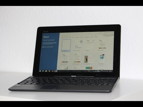 Asus Transformer Book T100 Microsoft Office 2013 & Arbeitseinsatz