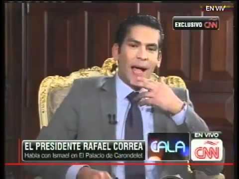 Entrevista de Ismael Cala al Presidente Rafael Correa en CNN