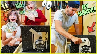 🤐WE BREAK INTO JESSE'S SAFE AND GO SHOPPING WITH HIS MONEY!! 🤑
