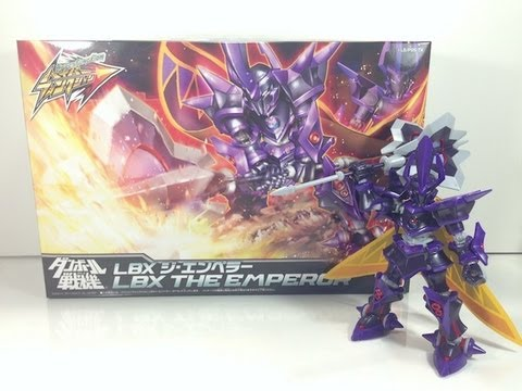Review: Hyper Function LBX The Emperor (Danball Senki)