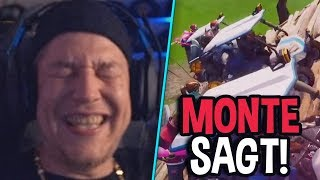 Autorennen in Fortnite! 😂 Monte sagt ... | MontanaBlack Fortnite Highlights