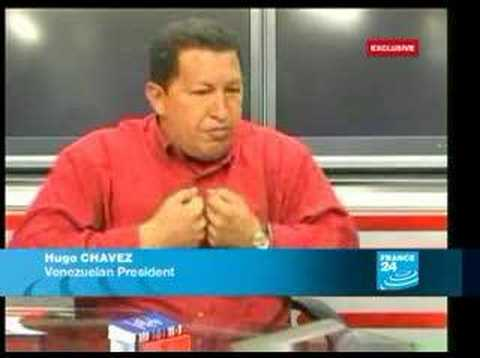 Interview Exclusive Hugo Chavez-EN-FRANCE24
