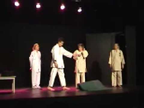 Tromteatret 08 - Sensei hai-a! video