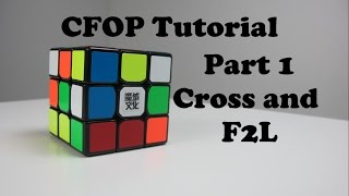 How to Solve a Rubik's Cube Fridrich Method (CFOP) Part 1 F2L | How to solve a Rubik's Cube FAST!