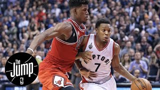 Jimmy Butler Recruiting Kyle Lowry To Chicago Bulls? | The Jump | ESPN