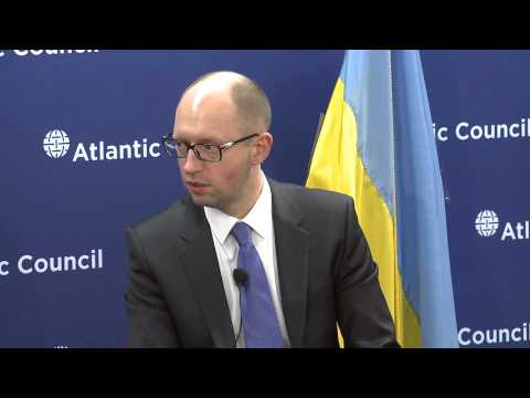 Ukraine's PM on Putin's Aggressive World View