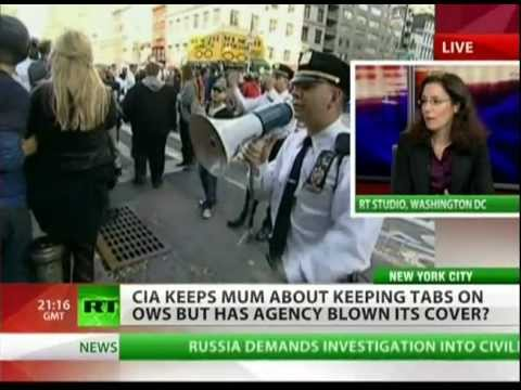 CIA won't disclose involvement in crackdowns on #OWS