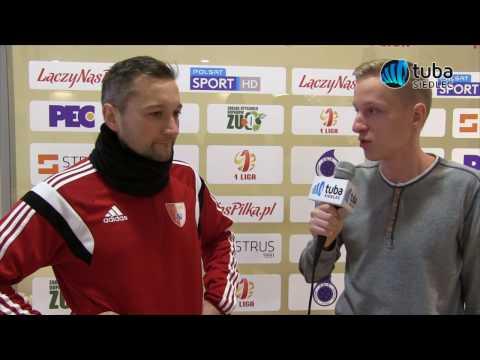 Wywiad z Trenerem MKP Pogoń Siedlce Marcinem Broniszewskim